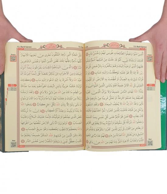 Seda Arapça Rahle Boy Yeşil Kuranı Kerim