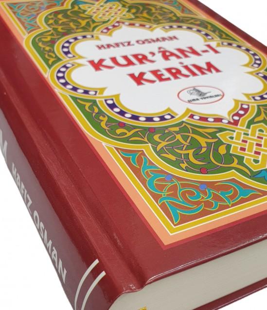 Türkçe Okunuşlu Bordo Kuranı Kerim - Hafız Osman 2.Hamur