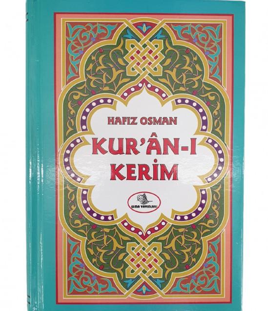 Türkçe Okunuşlu Mavi Kuranı Kerim - Hafız Osman 2.Hamur
