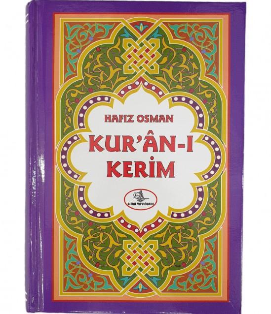 Türkçe Okunuşlu Mor Kuranı Kerim - Hafız Osman 2.Hamur