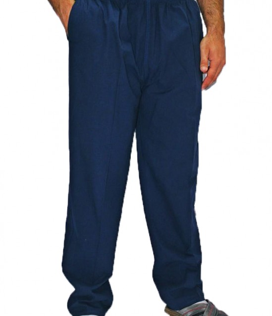 Berat Keten Şalvar Pantolon - Lacivert