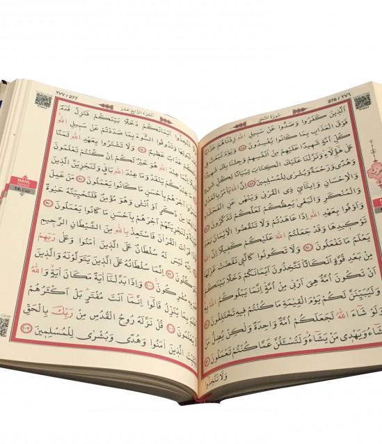 Lacivert Hac Ve Umre Hediyelik Kuran-ı Kerim