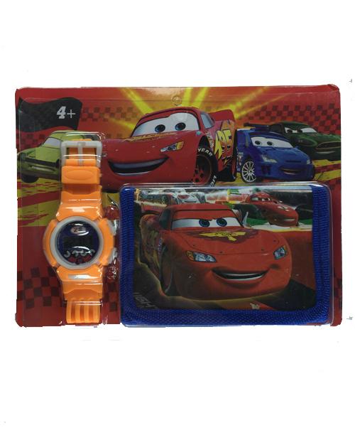 Çocuk Saat Cüzdan Seti 1