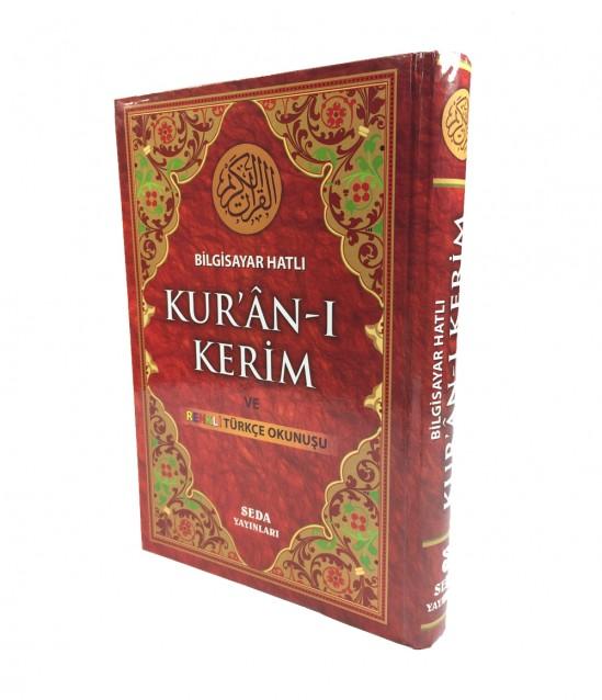 Seda Yayınları Türkçe Okunuşlu Kuran-ı Kerim Rahle Boy