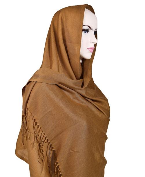 Şal - Pashmina - Kahverengi