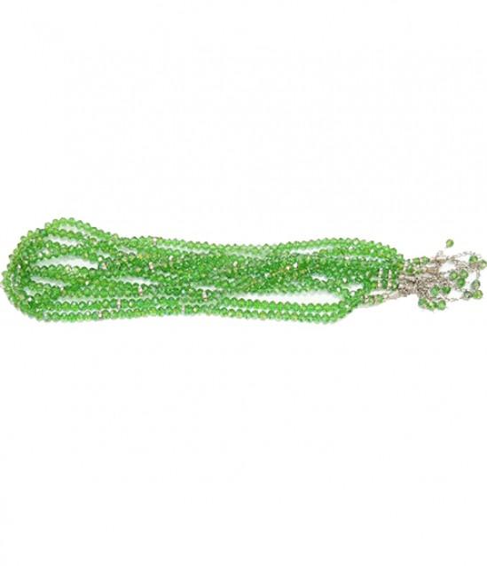 Tesbih Kristal 8mm 99lu - Yeşil 10Adet