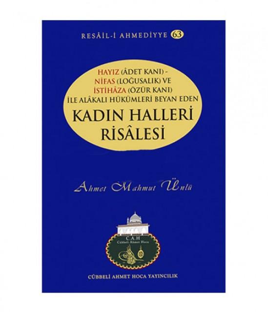 Cübbeli Ahmet Hoca Kadın Halleri Risalesi Kitabı