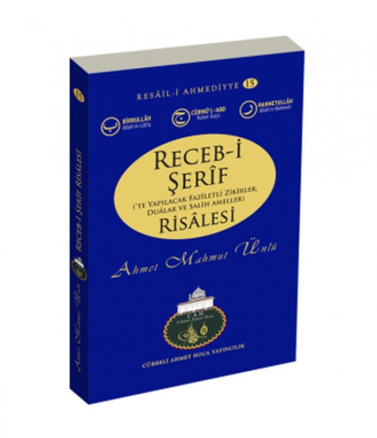 Cübbeli Ahmet Hoca Recebi Şerif Risalesi Kitabı
