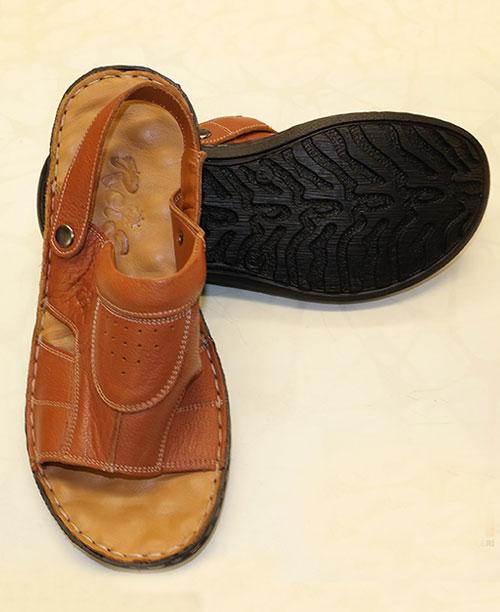 Sandalet - Hac Umre Sandaleti Kahverengi - Erkek