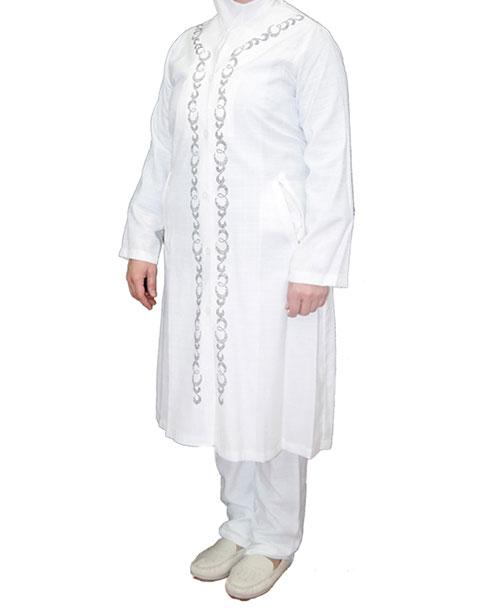 Gümüş Taşlı Bayan Hac ve Umre Kıyafeti
