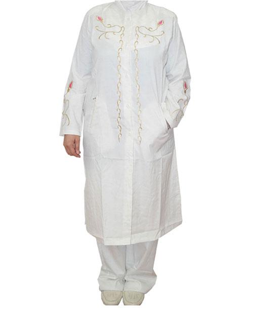 Lale Desenli Bayan Hac ve Umre Kıyafeti