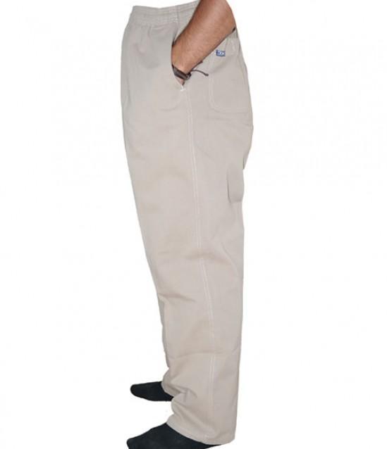 Keten Yarım Şalvar Pantolon - No:5975