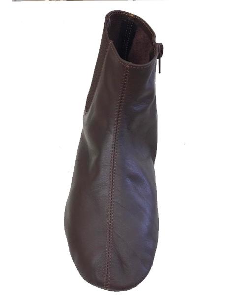 Kahverengi Deri Mest Çorap No:5
