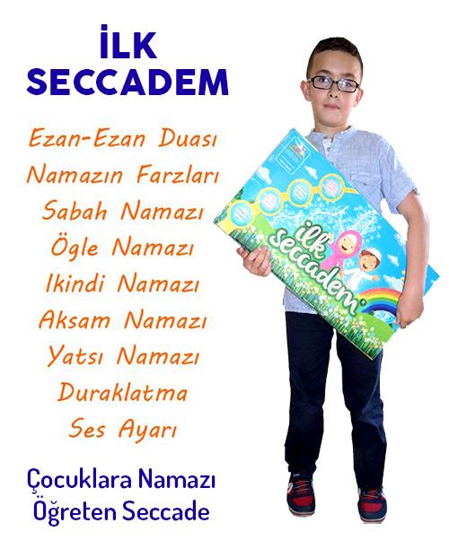 İlk Seccadem - Namaz Öğreten Sesli Seccade