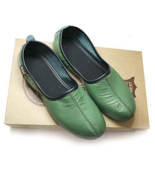 Akdam Deri Tavaf Patiği Yeşil