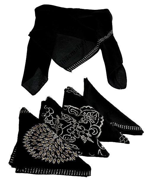 Eşarp - Medine İpeği - Siyah