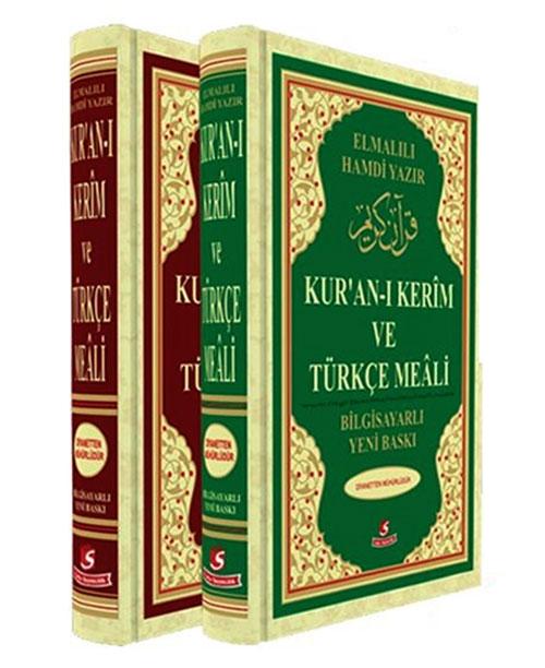 Kuranı Kerim ve Türkçe Meali - Cami Boy