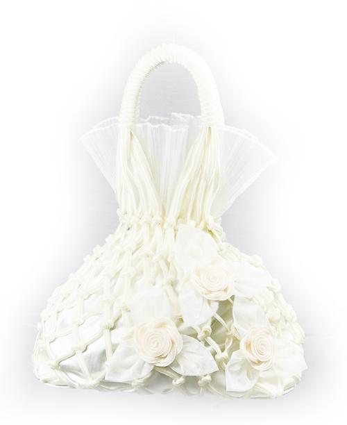 Beyaz Fileli Çanta